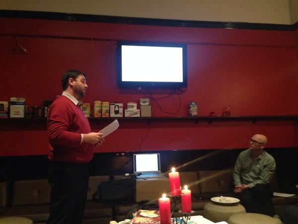 Luke explains 'design the product box'.